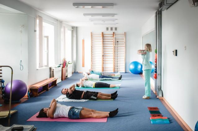 Зал лечебной физкультуры
