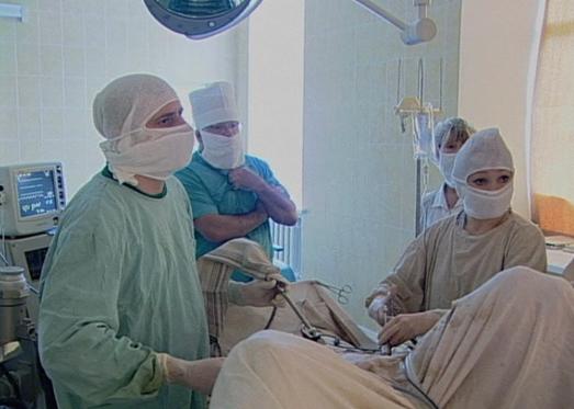 Приёмное отделение больницы боткина